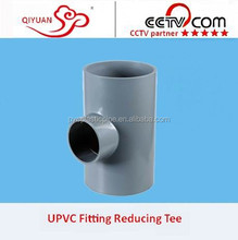 125*110 PVC Drainage Exhaust Lager Diameter Pipe Fittings Reducing 90 Degree Tee
