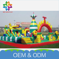 Factory Price Inflatable Bouncy Castle Newest Design Bouncing Castle And Slides