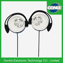 White Custom Branded Sport Headset with Factory Price headset with hidden microphone