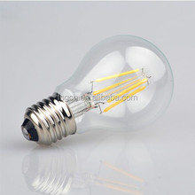 2015 Export Saudi Arabia Thailand LED Filament Bulb Energy saving 4w e27 led globe light