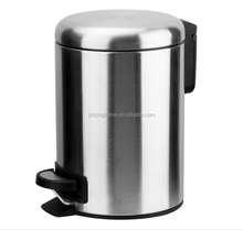 stainless steel pedal bin strong metal pedal 3L 5L 12L