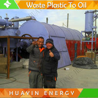 Waste tyre/rubber oil extracting machine No no need cut tires ! 10ton per day !
