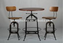 Vintage Retro Bar TableVintage Toledo Chair/ Metal Vintage Toledo Stool