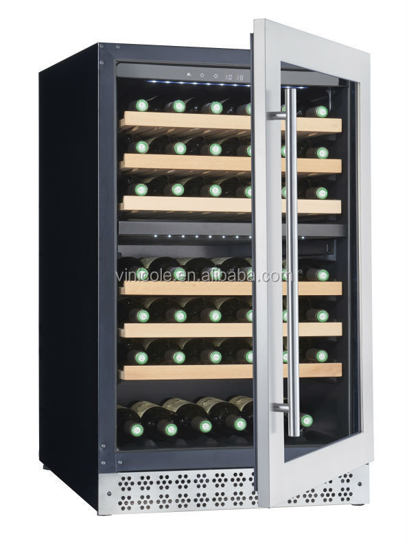 2016 78 bottles modern hot wine cooler wine refrigerator for Modern homes 8 bottle wine cooler