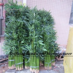 Trustworthy supplier in china/artificial indoor&outdoor plastic faux bamboo plant tree/bamboo planters