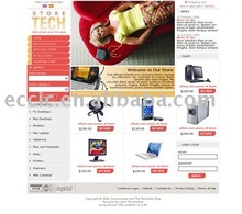 Low Cost Computer-electronics E-commerce Web Site Development