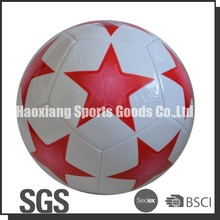 promotional machine stitched pvc star ball