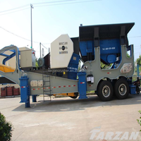 Stable performance high capacity small portable rock crusher from Tarzan Manufacturer