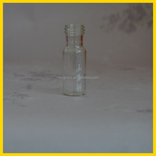 Clear Small glass bottle for Dendrobium powder, Maca powder, a grass pure powder