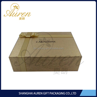 Wholesale custom printed recycled color decorative empty gift paper boxes