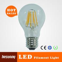 CE ROHS ERP 8W 800lm led bulb filament E27 led filament dimmable