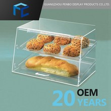 Different Tiers Accept Acrylic Cupcake Display Case