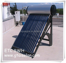 2015 Kenya Integrated Pressure 200 liters Solar Water Heater Systems with Heat Pipe Solar Collector ; CE, CCC, SOLAR KEYMARK