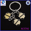 high quality low price custom shopping bag key chain