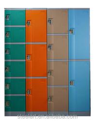 ABS plastic locker waterproof storage plastic sports lockers