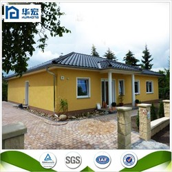 2015 Hot sale easy assembly modern steel prefabricated house