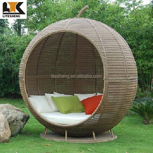 New Design Rattan Garden Outdoor Furniture Rattan Apple
