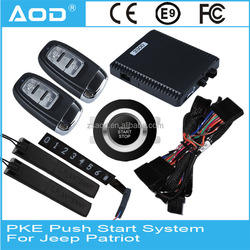 Smart key push button engine start system for Jeep Patriot