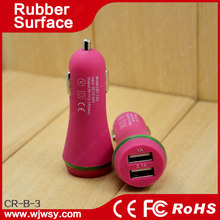 Car Charger with 5V 2.1A Output, Smart usb car charger Convenient to Use