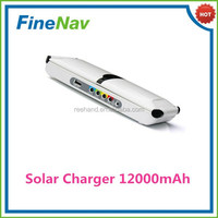 Camping Solar Power Panel Cell Moblile Phone Charger 12000mah