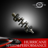 HUR002- 3504 forged 4340 steel high performance Honda B18 crankshaft 89mm stroke , custom made accept