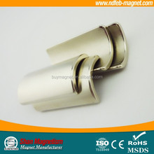 Arc and segment rare earth magnet for motor