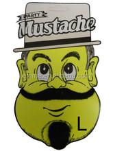 2015 best selling fake beard jokes cheap artificial mustache for party MU8062