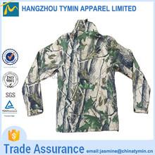 Hiking high quality winter windbreaker army camo jacket