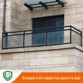 balcón barandilla de aluminio de diseño de los precios