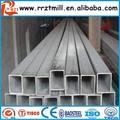 Tubo de aço quadrado& tubo quadrado 100x100& preto tubo de ferro quadrado