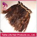 En bruto virgen ningún producto químico sin productos para el cabello de las reinas de la onda del cuerpo brasileñ