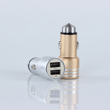 mini fast usb charger adapter, 2 port fast usb charger with certifications,5V 1A,2.1A usb car charger