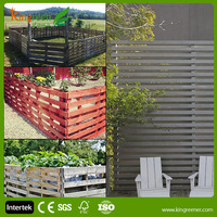 China Water Proof Eco Friendly Products Garden Fence Use outdoor WPC Fence