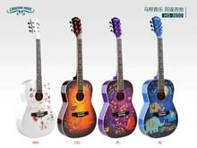 """36""""acoustic CARAVAN MUSIC guitar China guitar factory"""