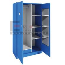 2 Door Steel Bedroom Wardrobe Locker Design