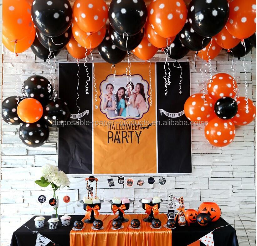 Halloween Party Supplies Paper Decorations Halloween