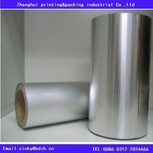 Aluminum Foil Sealing Roll with PP/PE /PVC lacquered For Food Packaging