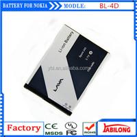 BL-4D 1200mAh long time talking battery for mobile phone for NOKIA N97mini N8 E5 E7 702T T7-00 T7 N5 808