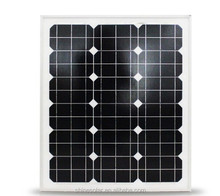 60W Mono solar panel ,solar energy power system module
