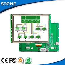 7 inch lcd hmi plc indoor use 16bit color display