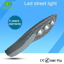 fire resistance 120w led street light meanwell driver with steel wire