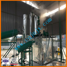 No pollution Mini waste car/truck motor oil refinery for diesel oil ! JNC china used lube oil purification