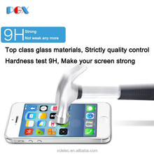 japanese blue films shatter-proof tempered glass for iphone 4