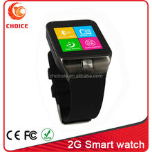 Best women 2G phone call wrist watch mobile phone brand with fm radio and camera