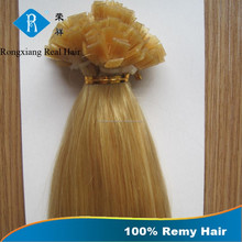 Fashion No Tangle No Shedding Factory Wholesale pre-bonded hair