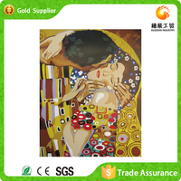 Factory supply 3d diy diamond modern art wall canvas oil painting