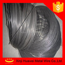low carbon steel wire high tensile hard/cold drawning black iron wire for making nails