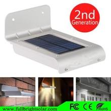 16 LED Super Bright Waterproof Solar Powered Light Motion Sensor Outdoor Garden Patio Path Wall Mount solar Lamp