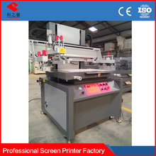 vertical type high quality precision flat bed screen printing
