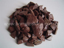 color landscaping colored crushed stone